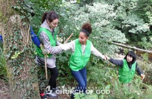 Balsam Bashing Cleanup - World Mission Society Church of God Members